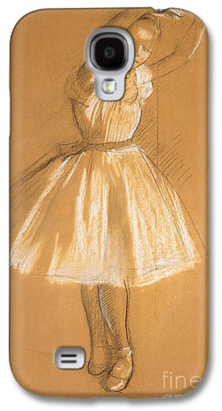 Little Dancer Galaxy S4 Case by Edgar Degas