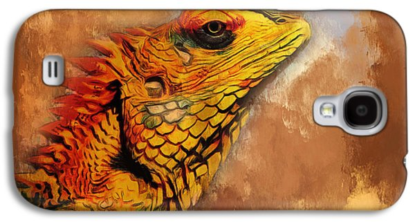 House Pet Digital Art Galaxy S4 Cases - Little Dragon Galaxy S4 Case by Yury Malkov
