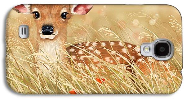 Little Fawn Galaxy S4 Case by Veronica Minozzi