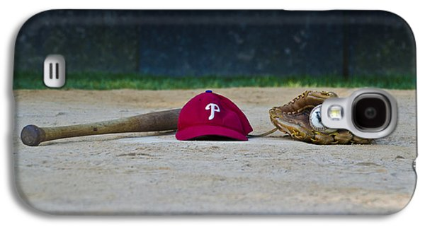 Phillie Galaxy S4 Cases - Little League Dreams Galaxy S4 Case by Bill Cannon