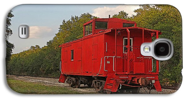 Machinery Galaxy S4 Cases - Little Red Caboose Galaxy S4 Case by HH Photography of Florida