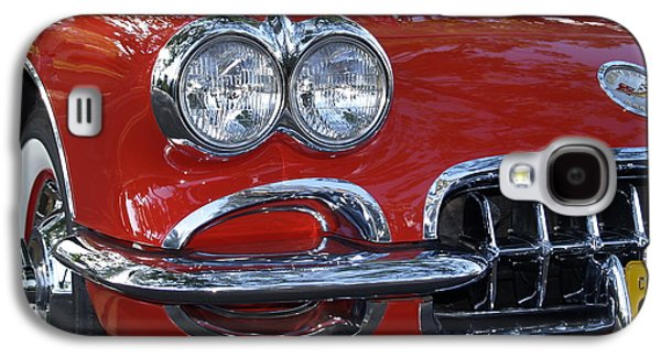 Sports Photographs Galaxy S4 Cases - Little Red Corvette Galaxy S4 Case by Bill Gallagher