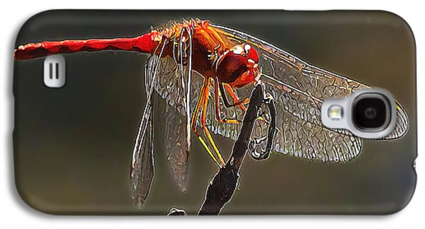 Digital Galaxy S4 Cases - Little Red Dragon 2 Galaxy S4 Case by Bill Caldwell -        ABeautifulSky Photography