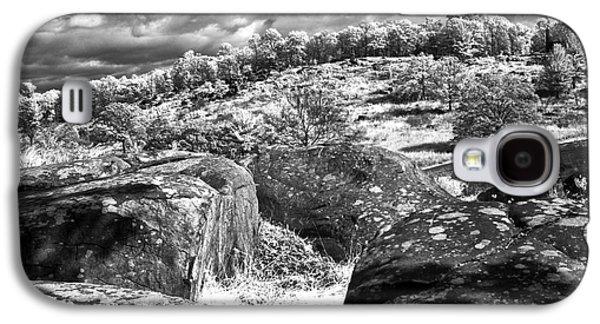 Devils Den Galaxy S4 Cases - Little Roundtop overlooking Devils Den Galaxy S4 Case by Paul W Faust -  Impressions of Light