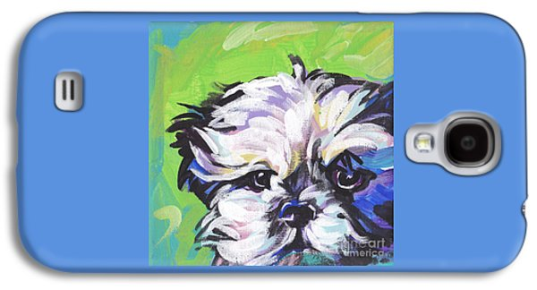 Puppies Galaxy S4 Cases - Little Shitz Galaxy S4 Case by Lea