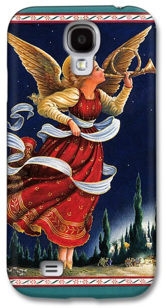 Angels Galaxy S4 Cases - Little Town of Bethlehem Galaxy S4 Case by Lynn Bywaters