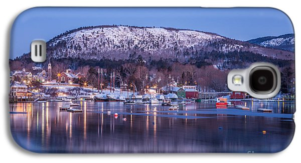 Mid-coast Maine Galaxy S4 Cases - Little Town of Camden Galaxy S4 Case by Susan Cole Kelly