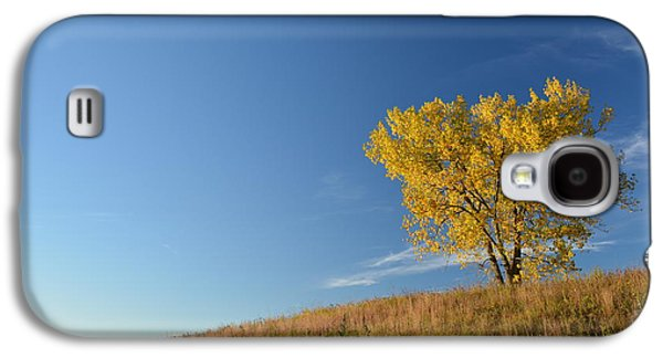 Hope And Change Galaxy S4 Cases - Live in the Prairie Galaxy S4 Case by Jesse Olson