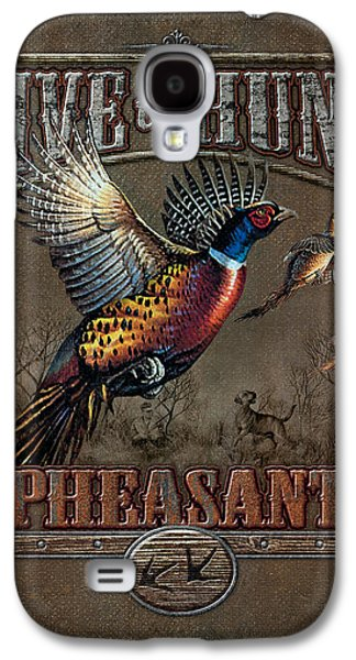 Cynthie Fisher Galaxy S4 Cases - Live To Hunt Pheasants Galaxy S4 Case by JQ Licensing