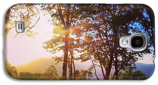 John Adams Galaxy S4 Cases - Livin A Mountain Morning Galaxy S4 Case by John Adams