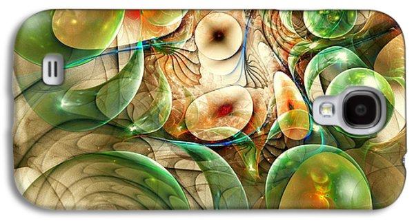Bubbles Galaxy S4 Cases - Living Organisms Galaxy S4 Case by Anastasiya Malakhova
