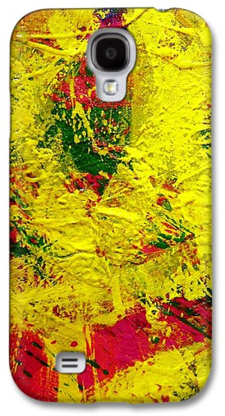 Abstract Movement Galaxy S4 Cases - Living Pigment Galaxy S4 Case by John  Nolan