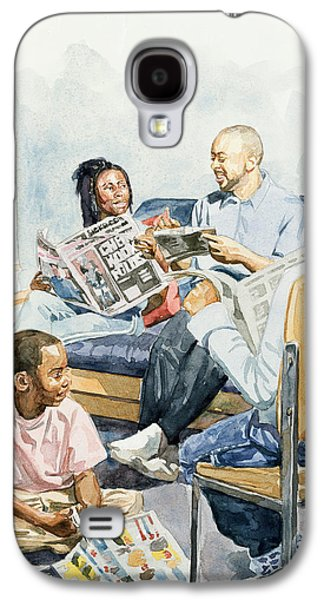 African-american Galaxy S4 Cases - Living Room Serenades Galaxy S4 Case by Colin Bootman