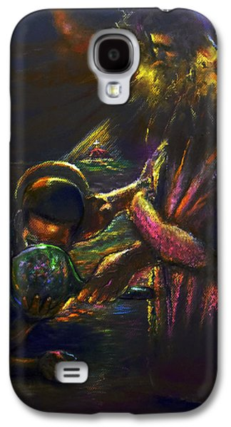 Religious Pastels Galaxy S4 Cases - Living Water Galaxy S4 Case by Tommy  Winn