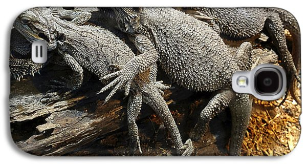 Cooperation Galaxy S4 Cases - Lizards Galaxy S4 Case by Les Cunliffe