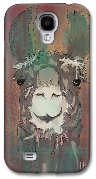 Llama Digital Galaxy S4 Cases - Llama Dama Dama ding dong Galaxy S4 Case by Robin Wiesneth
