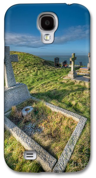 Cemetary Galaxy S4 Cases - Llanbadrig Cemetery Galaxy S4 Case by Adrian Evans