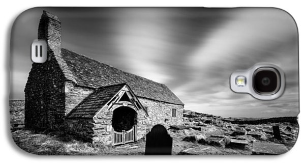 Graveyard Galaxy S4 Cases - Llangelynnin Church Galaxy S4 Case by Dave Bowman