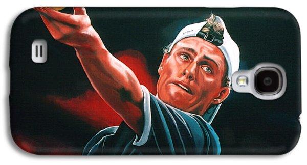 Tennis Player Galaxy S4 Cases - Lleyton Hewitt 2  Galaxy S4 Case by Paul  Meijering