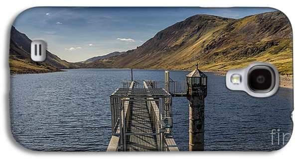 Walkway Digital Art Galaxy S4 Cases - Llyn Cowlyd Reservoir Galaxy S4 Case by Adrian Evans