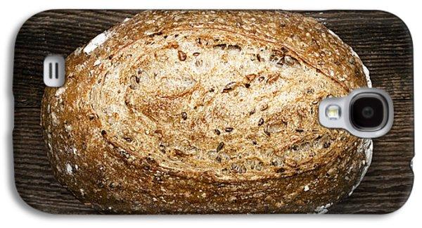 Artisan Galaxy S4 Cases - Loaf of multigrain artisan bread Galaxy S4 Case by Elena Elisseeva