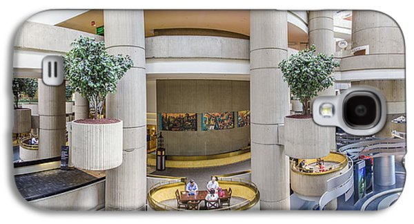 Renaissance Center Galaxy S4 Cases - Lobby of the Renaissance Center Galaxy S4 Case by John McGraw