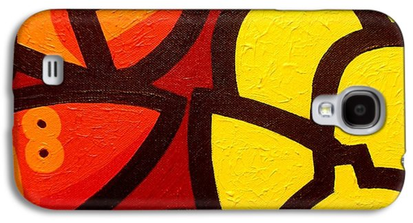 Wine Canvas Paintings Galaxy S4 Cases - Lobster And 5 Lemons Galaxy S4 Case by John  Nolan