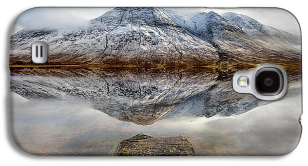 Landscapes Photographs Galaxy S4 Cases - Loch Etive Reflection Galaxy S4 Case by Dave Bowman