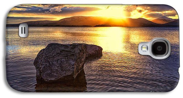 Recently Sold -  - Landscapes Photographs Galaxy S4 Cases - Loch Lomond Sunset Galaxy S4 Case by John Farnan