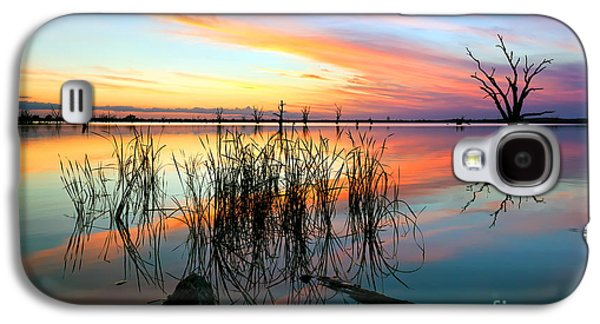 Luna Galaxy S4 Cases - Loch Luna Sunset Galaxy S4 Case by Bill  Robinson