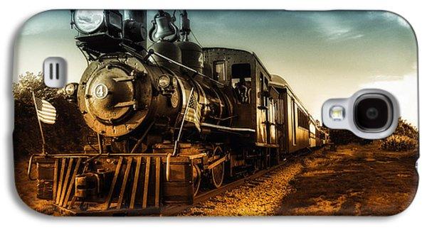 Loft Galaxy S4 Cases - Locomotive Number 4 Galaxy S4 Case by Bob Orsillo