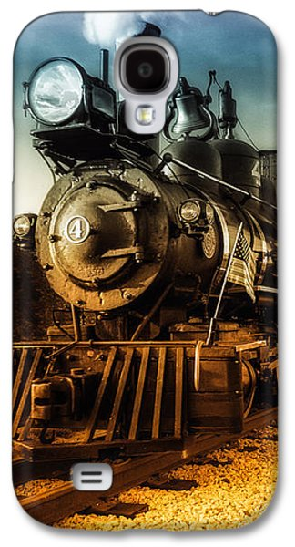 New England Galaxy S4 Cases - Locomotive Number 4 Galaxy S4 Case by Bob Orsillo