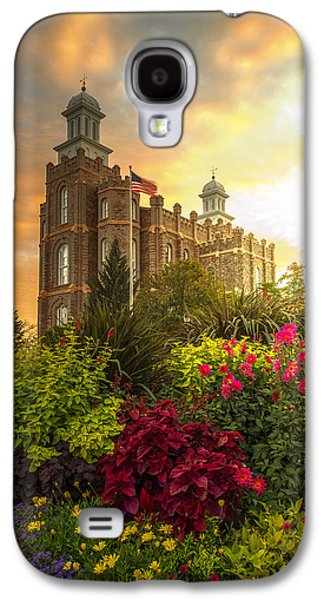Hope Photographs Galaxy S4 Cases - Logan Temple Garden Galaxy S4 Case by Dustin  LeFevre
