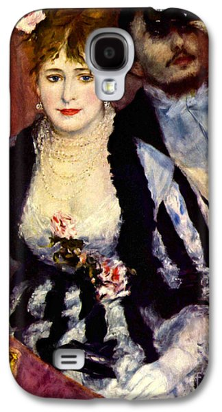 Opera Gloves Galaxy S4 Cases - Loge 1874 Galaxy S4 Case by Padre Art