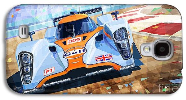 Digital Mixed Media Galaxy S4 Cases - Lola Aston Martin LMP1 Racing Le Mans Series 2009 Galaxy S4 Case by Yuriy  Shevchuk