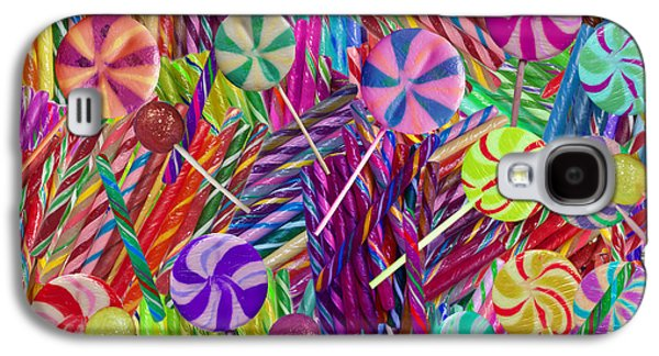 Landscapes Photographs Galaxy S4 Cases - Lolly Pop Twists Galaxy S4 Case by Alixandra Mullins