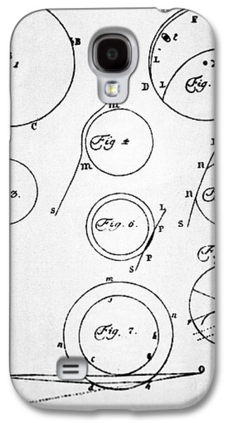 Observer Photographs Galaxy S4 Cases - Lomonosovs Diagrams Of Venus Transit Galaxy S4 Case by Ria Novosti