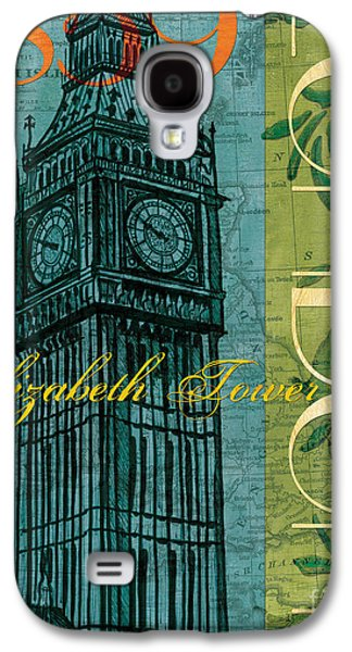 Maps Paintings Galaxy S4 Cases - London 1859 Galaxy S4 Case by Debbie DeWitt