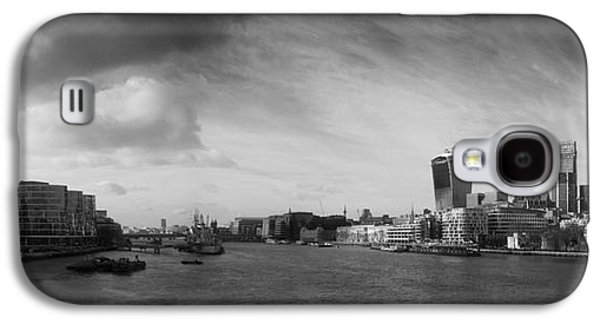 London City Panorama Galaxy S4 Case by Pixel Chimp