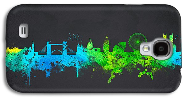 London England Galaxy S4 Case by Aged Pixel