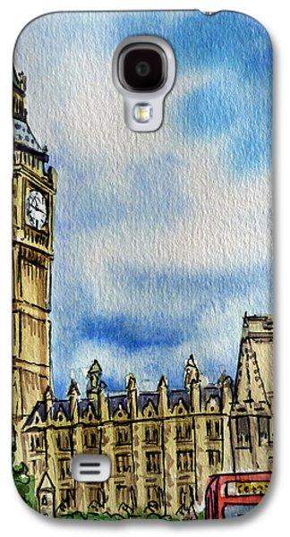 London England Big Ben Galaxy S4 Case by Irina Sztukowski
