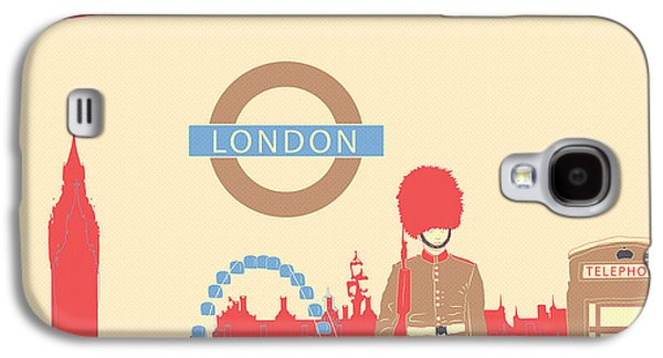 London England Galaxy S4 Case by Famenxt DB