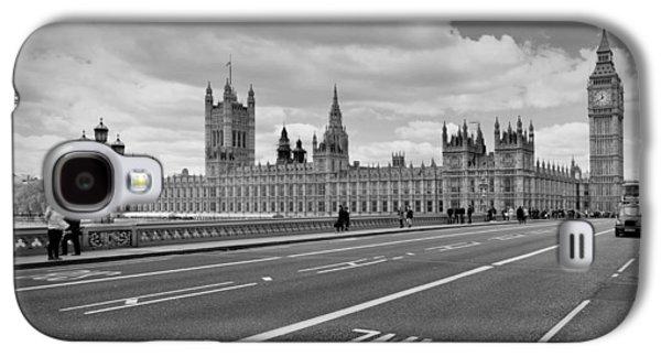 London - Houses Of Parliament  Galaxy S4 Case by Melanie Viola