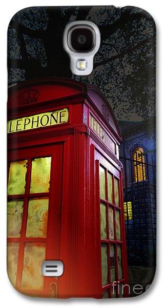 Tardis Galaxy S4 Cases - London Tardis Galaxy S4 Case by Jasna Buncic