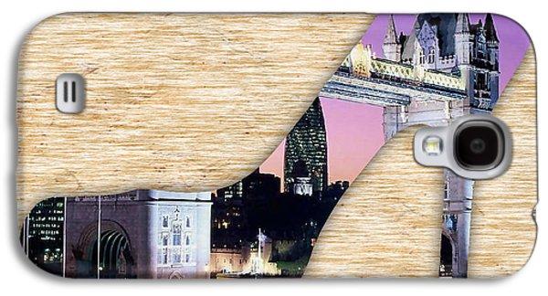 London Tower Bridge Galaxy S4 Case by Marvin Blaine