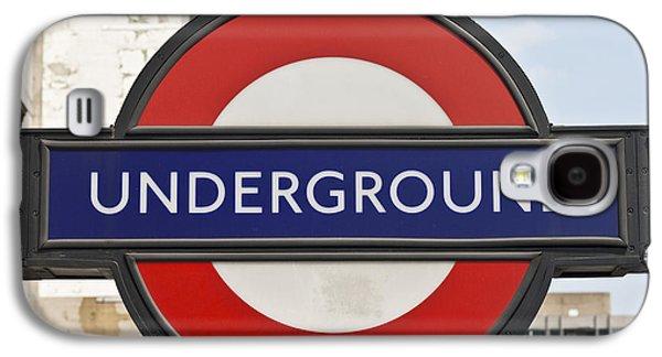 London Underground Galaxy S4 Case by Georgia Fowler