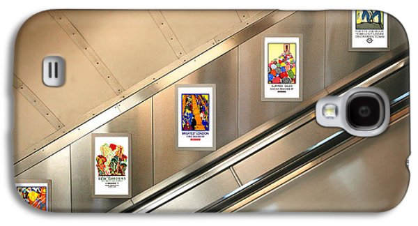 London Underground Poster Collection Galaxy S4 Case by Mark Rogan