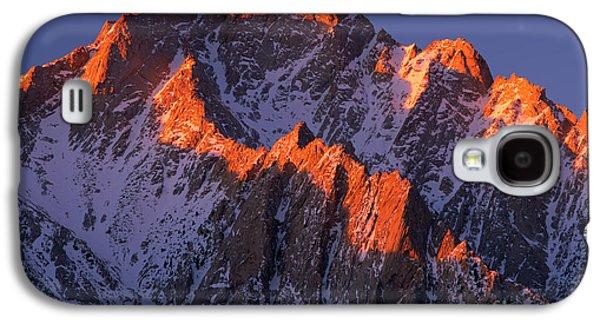 Alabama Galaxy S4 Cases - Lone Pine Peak Galaxy S4 Case by Inge Johnsson
