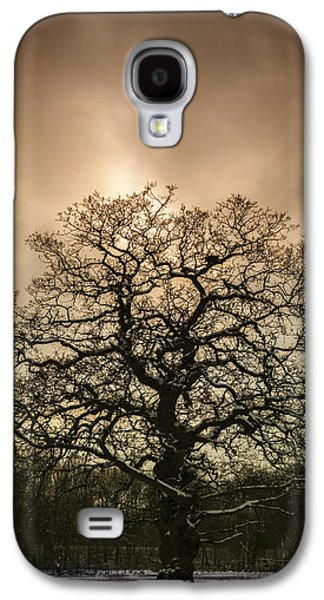 Trees Photographs Galaxy S4 Cases - Lone Tree Galaxy S4 Case by Amanda And Christopher Elwell