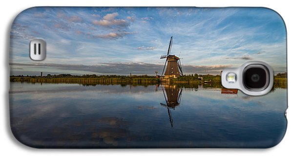 Windmill Galaxy S4 Cases - Lone Windmill Galaxy S4 Case by Chad Dutson